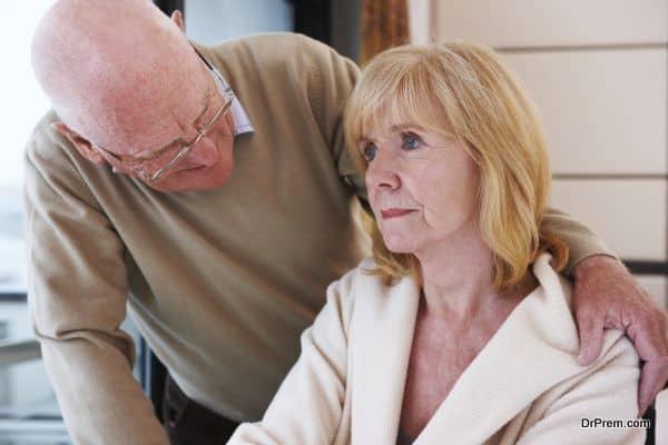Senior Man Offering Comfort