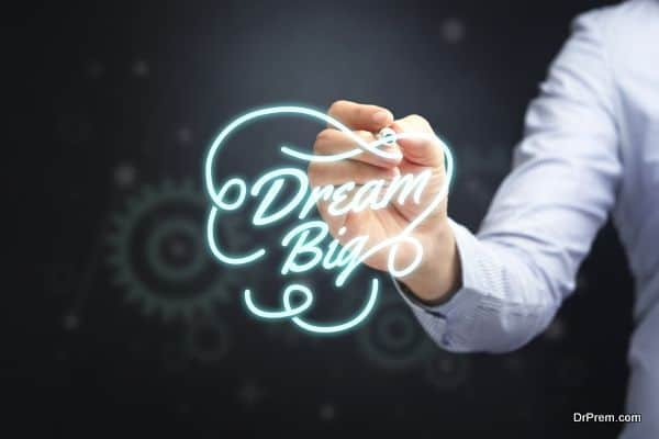 Photo of Dream big, it costs nothing