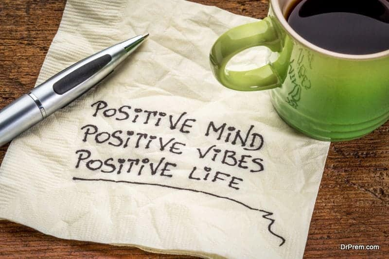 positive mind, vibes and life