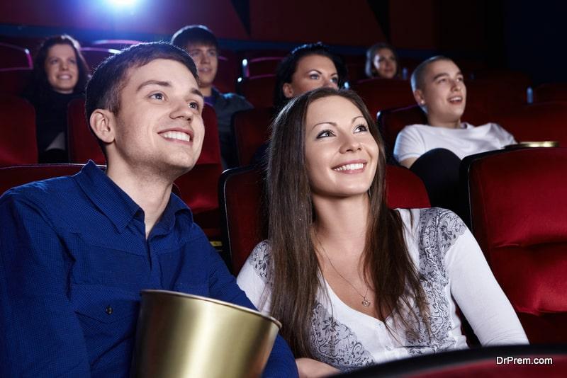 A movie date
