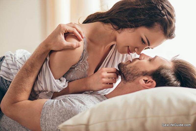 Tickling is lot of fun between partners
