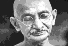 My life is my message - Mahatma Gandhi