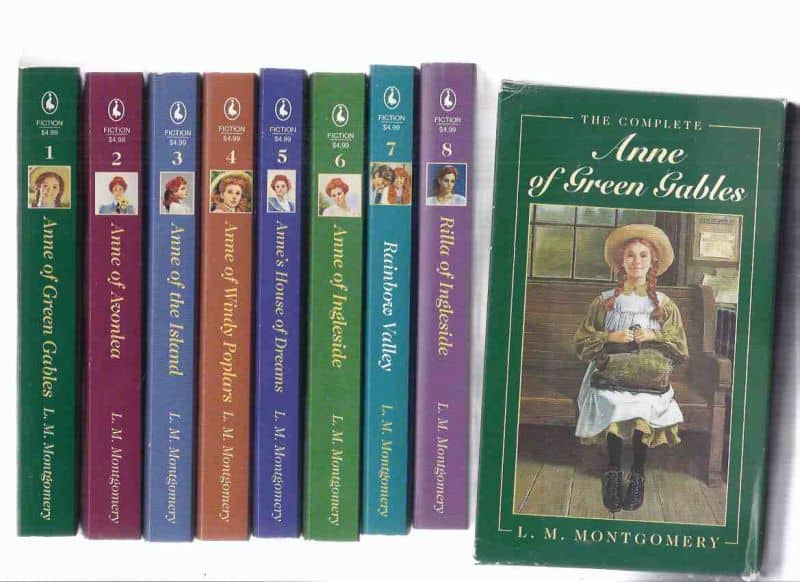 The Complete Anne of Green Gables Boxed Set by L.M. Montgomery