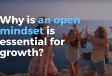 open mindset is essential for growth