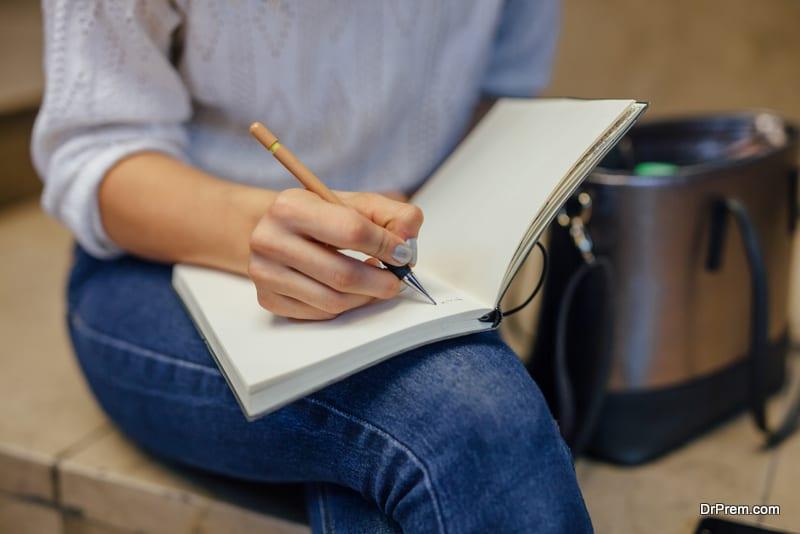 consciousness writing
