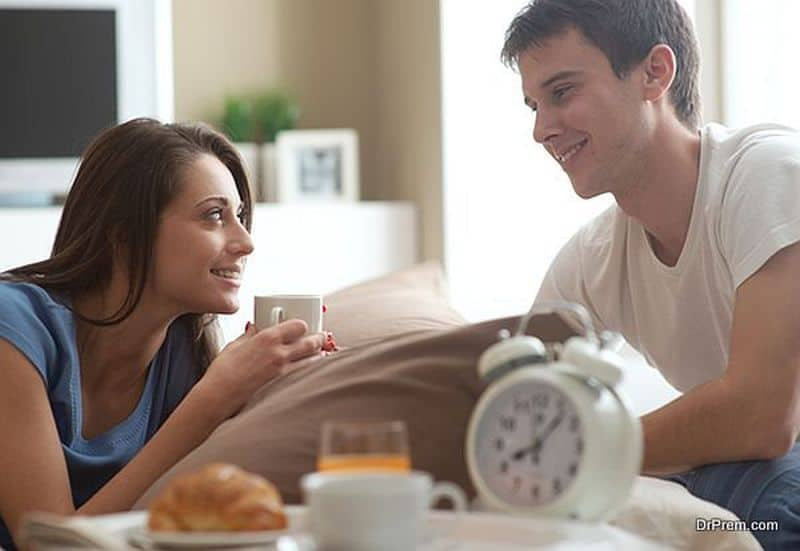 better to talk openly with your partner