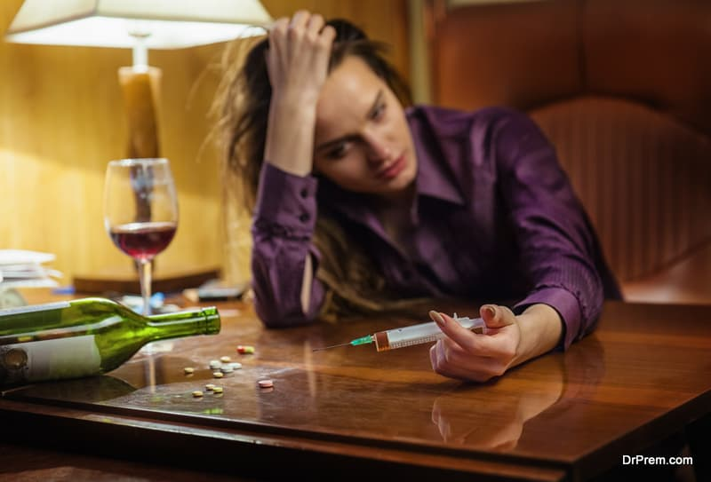 addiction related health issues