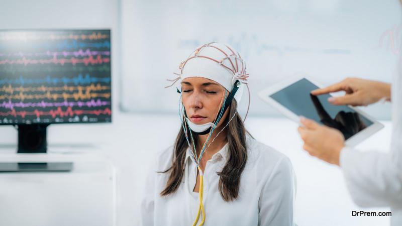 Brainwave EEG or Electroencephalograph Examination