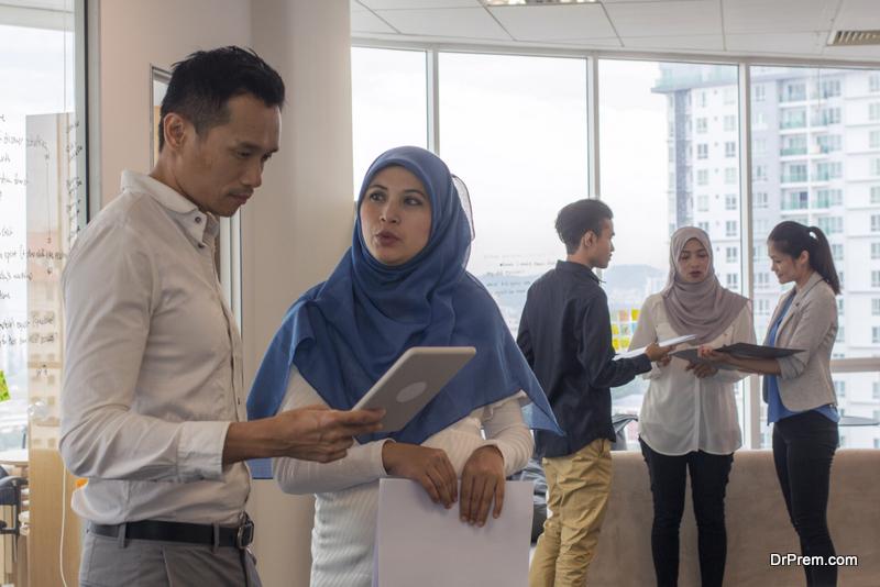Malaysian people conversation