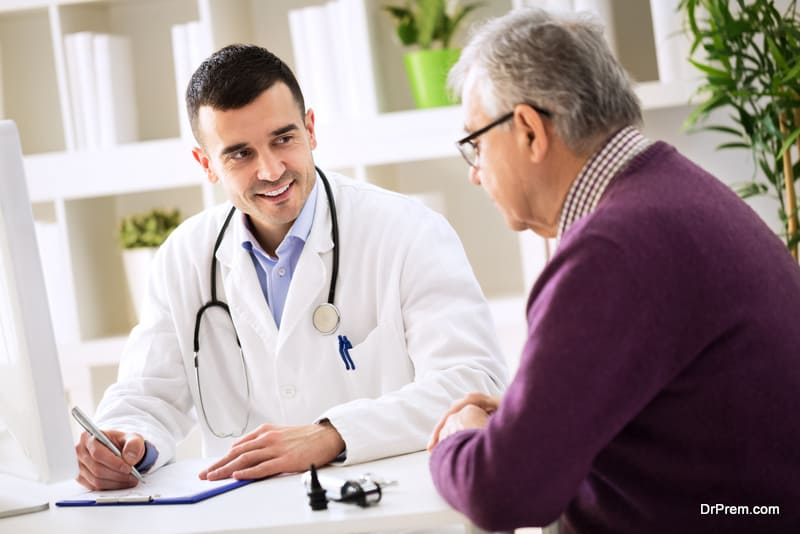 Physicians should aim to make their patient feel at ease