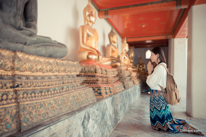 Thailand is one of the most strongly Buddhist countr