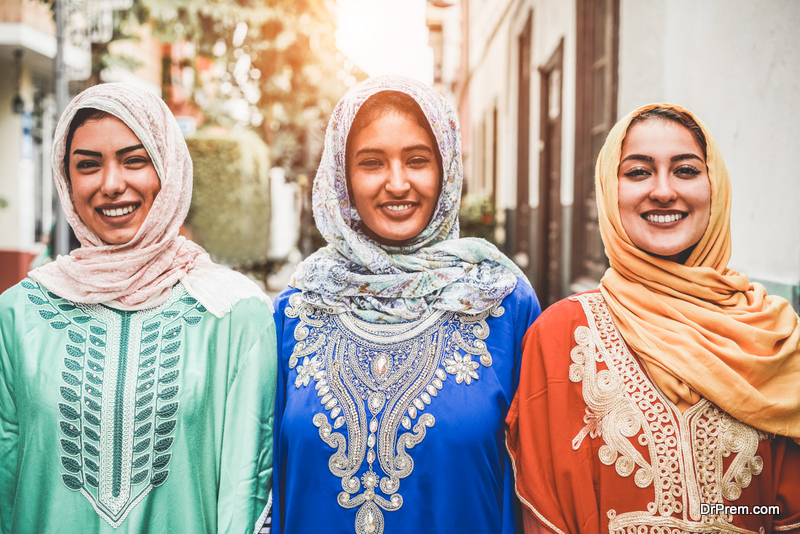 dressing in Iran is very conservative