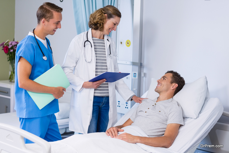 satisfaction in the patient taking treatment