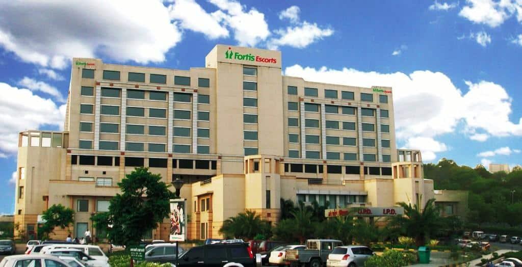 4. Fortis Hospital, Bangalore, India