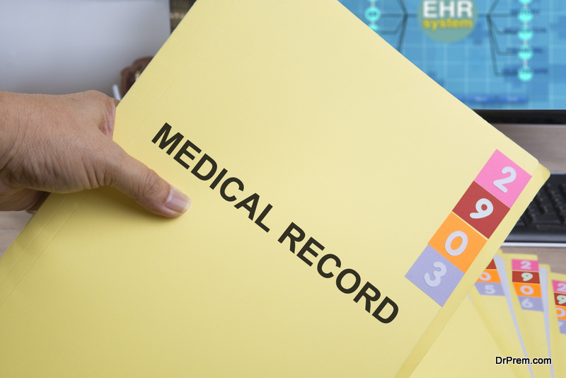 medical report of the patient