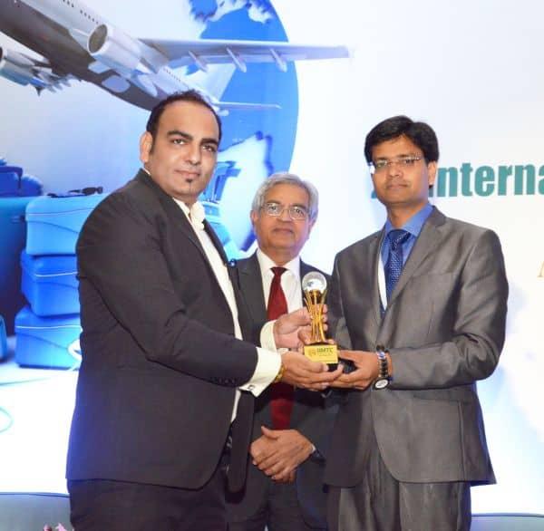Dr Prem Recieving Award in Delhi India