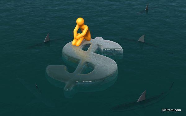 heavy financial drainage