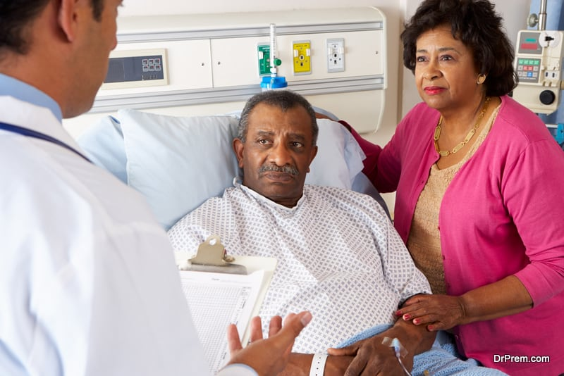 African couple on medical tourism