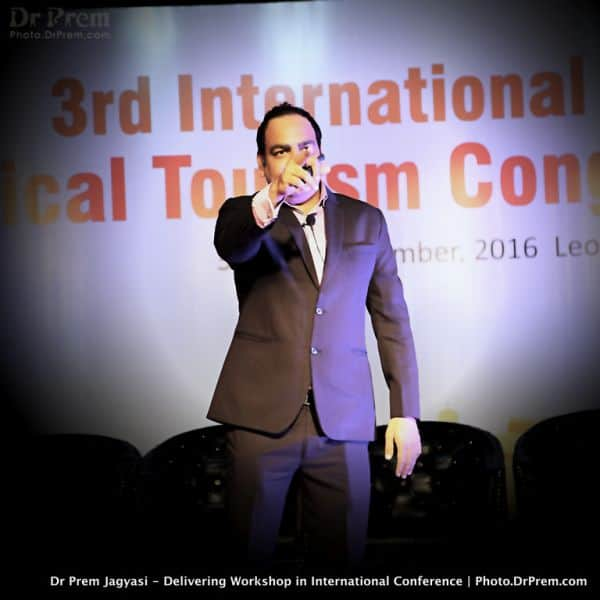 Dr Prem Jagyasi Delivering Keynote International India Conference