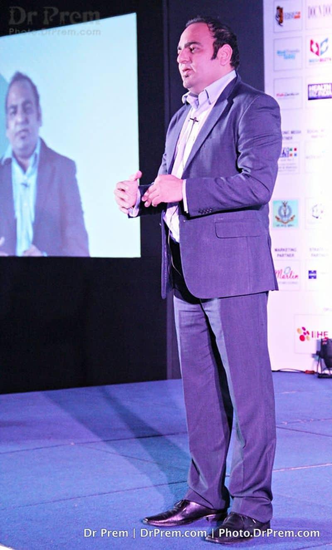 Dr Prem Jagyasi Speaking in Conference