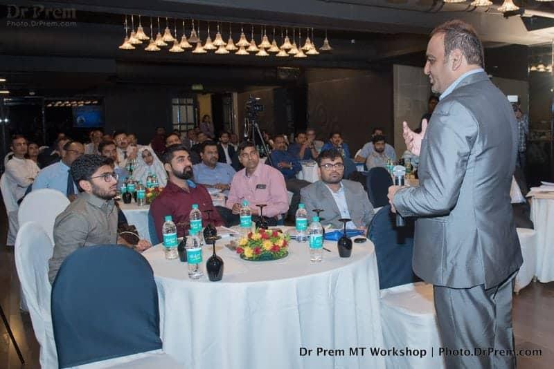 Dr Prem Delivering speech in Medical Tourism Workshop (2)