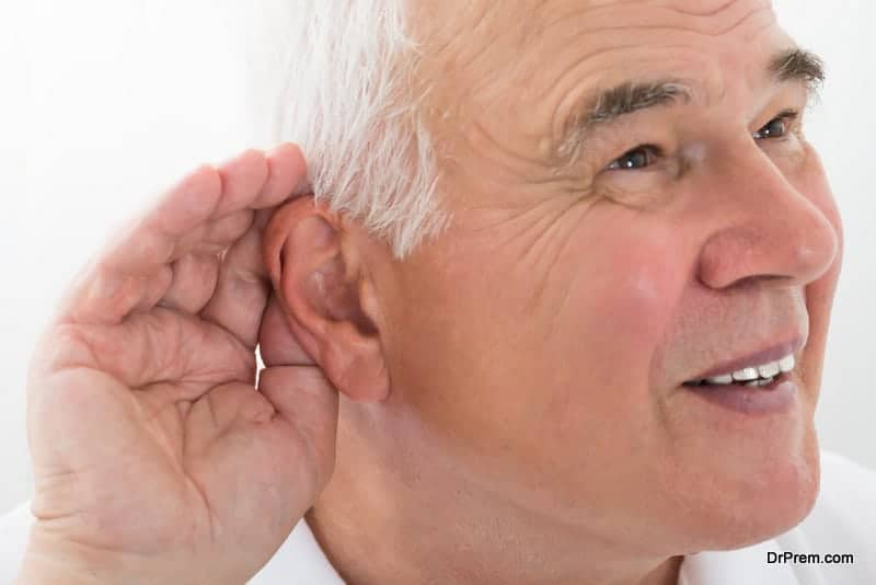 People with impaired speech and hearing