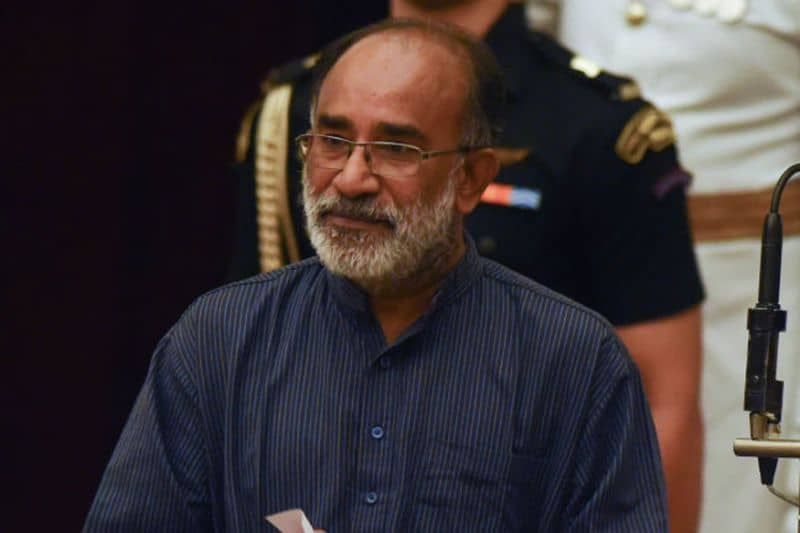 Honorable tourism minister K J Alphons
