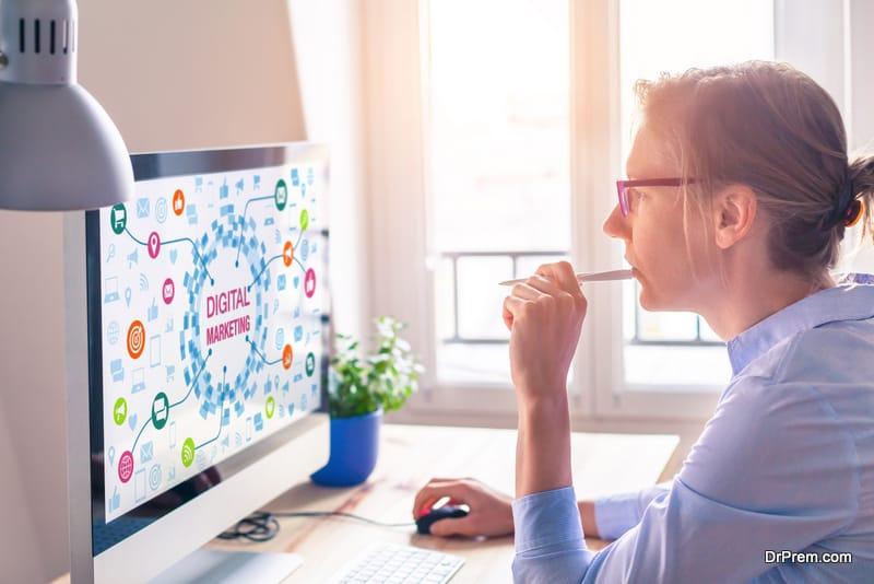 Use social media platforms to establish your market value