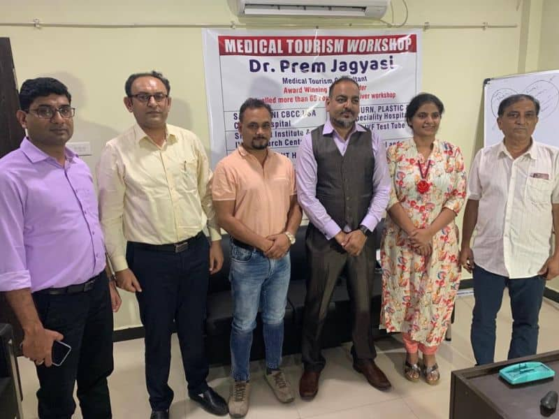 Dr. Prem's Medical tourism workshop in Raipur Chattisgarh