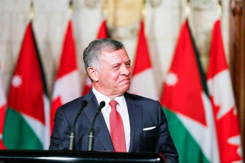 His Majesty King Abdullah