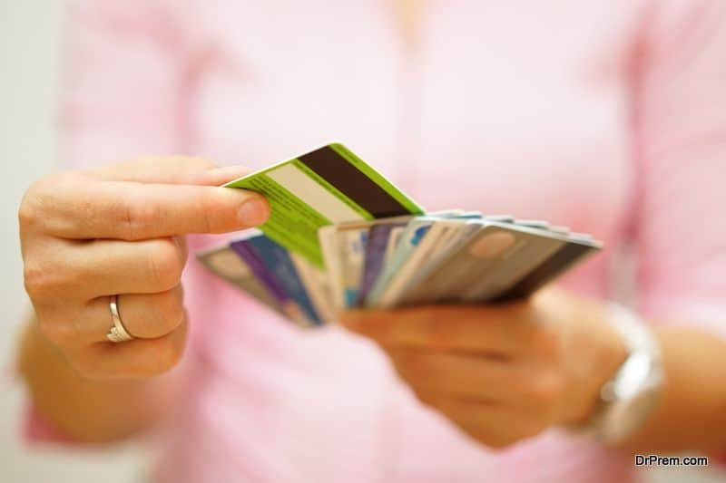 prepare to take a debit card or credit card