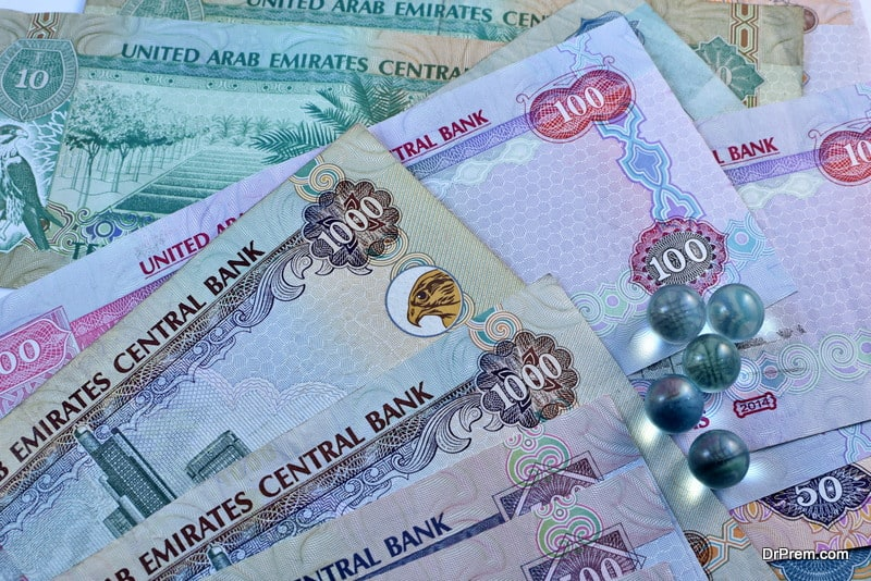 Millions of Dirhams are being spent