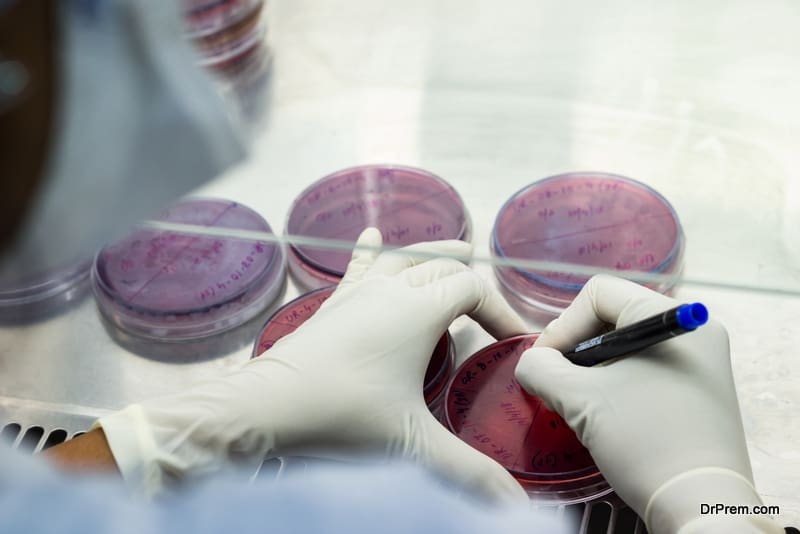 microbiology tests to check AMR infection