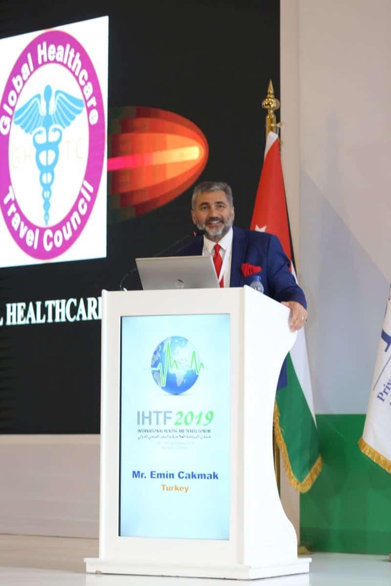 Mr. Emin Chakmak at IHTF'2019