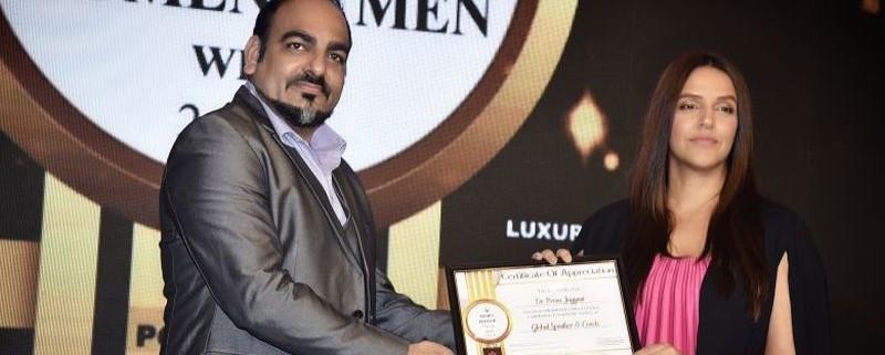 Dr. Prem Received Times Of India Global Speaker Award