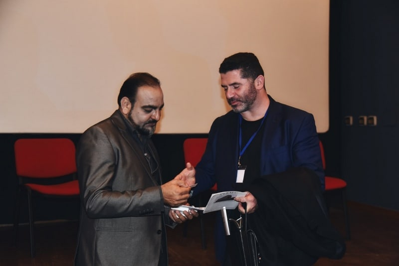 Dr prem with Mr. Stefano Urbani