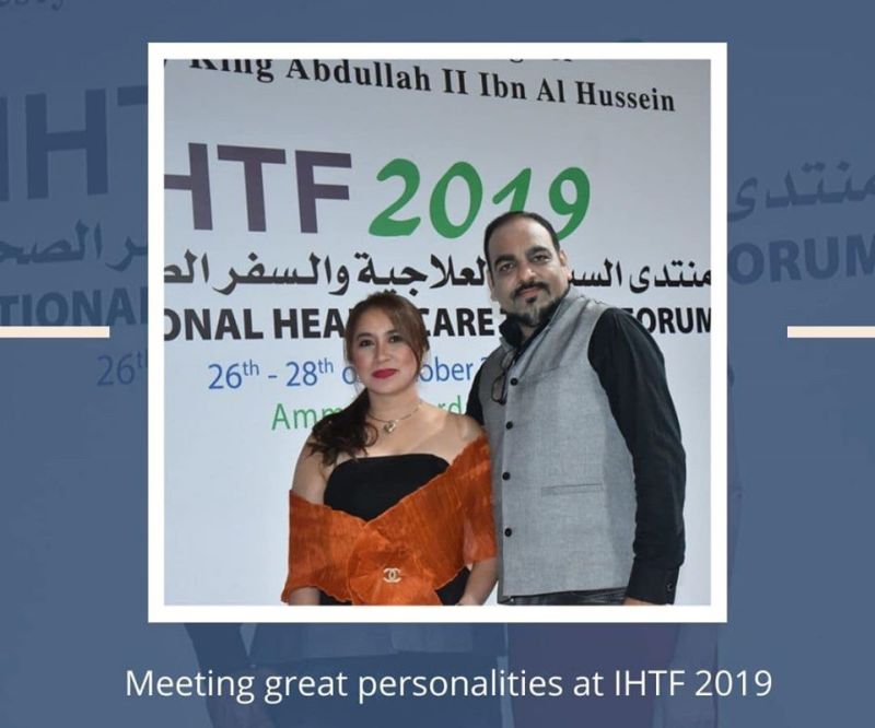 MEETING GREAT PERSONALITIES AT IHTF 2019