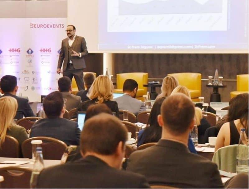 Dr Prem Jagyasi, in medical tourism conference in Euroevents