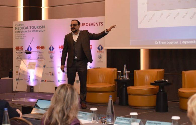 Dr Prem at 6th Medical Tourism Conference