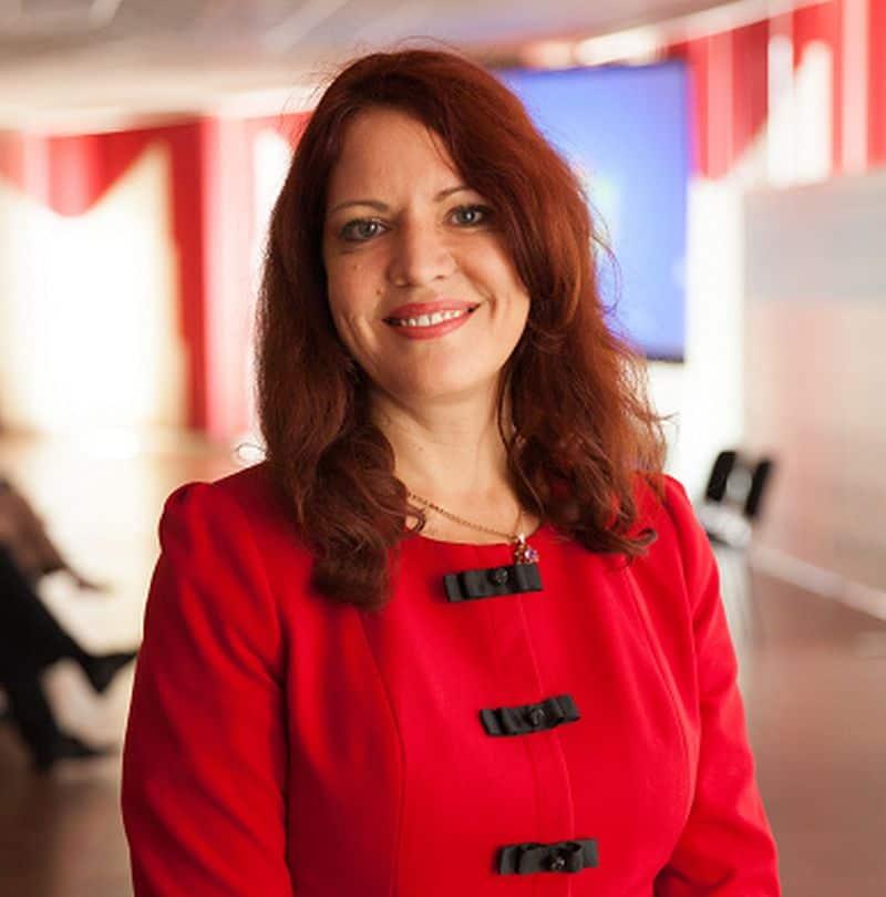 Mrs. Violetta Yanyshevska, the GHTC President and Chairman of UAMT