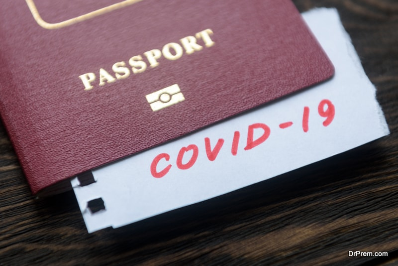 issuance of health passports to kick start tourism