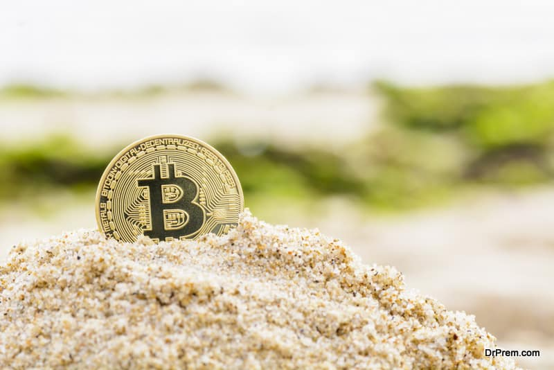 Bitcoin payments in South Korean beaches