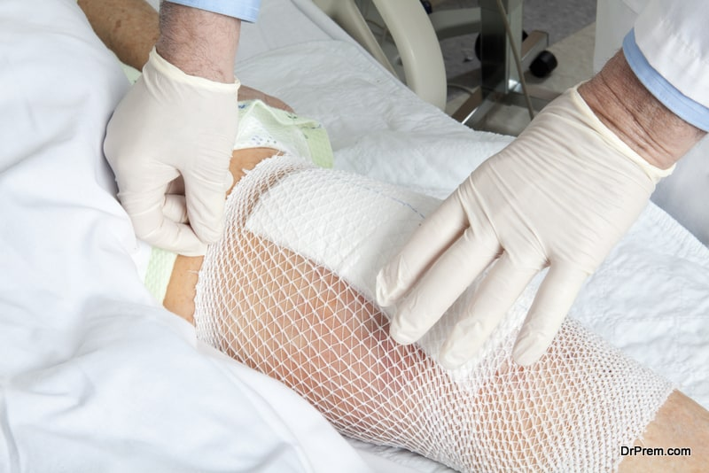 knee replacement surgery.