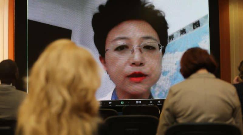Dr. Jia Xiao Fang, President of China International Health and Medical Tourism Association ( CIHMTA)