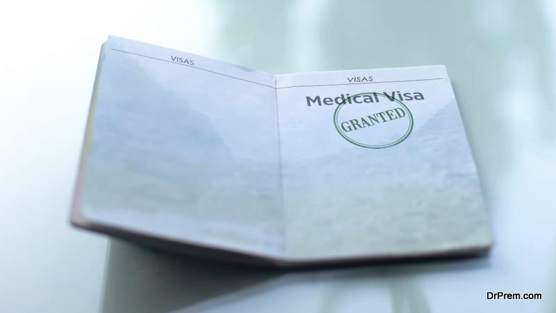 Medical visa granted