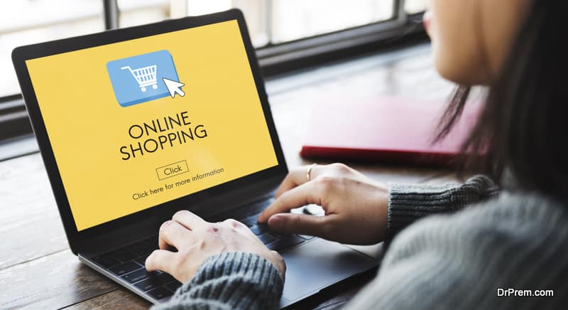 special online shopping program for the visitors