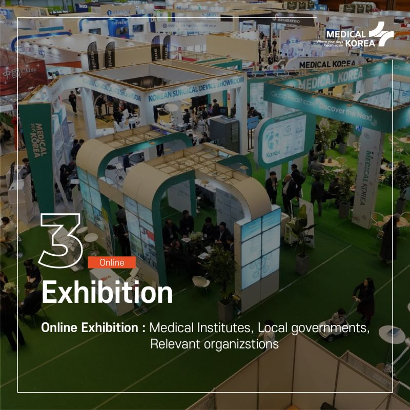 Medical device exhibition