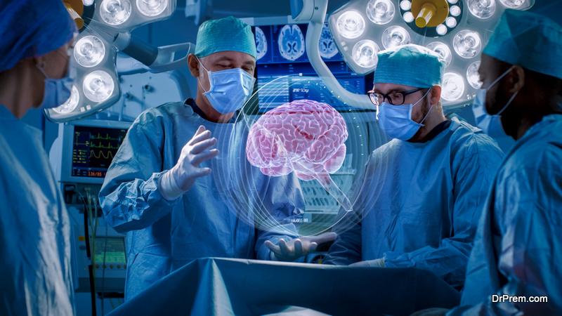 Surgeons Perform Brain Surgery Using Augmented Reality