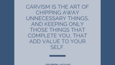 Carvism is the art of chipping