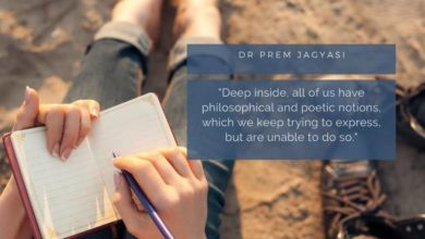 Deep inside, all of us have philosophical and poetic notions-Dr Prem Jagyasi Quotes